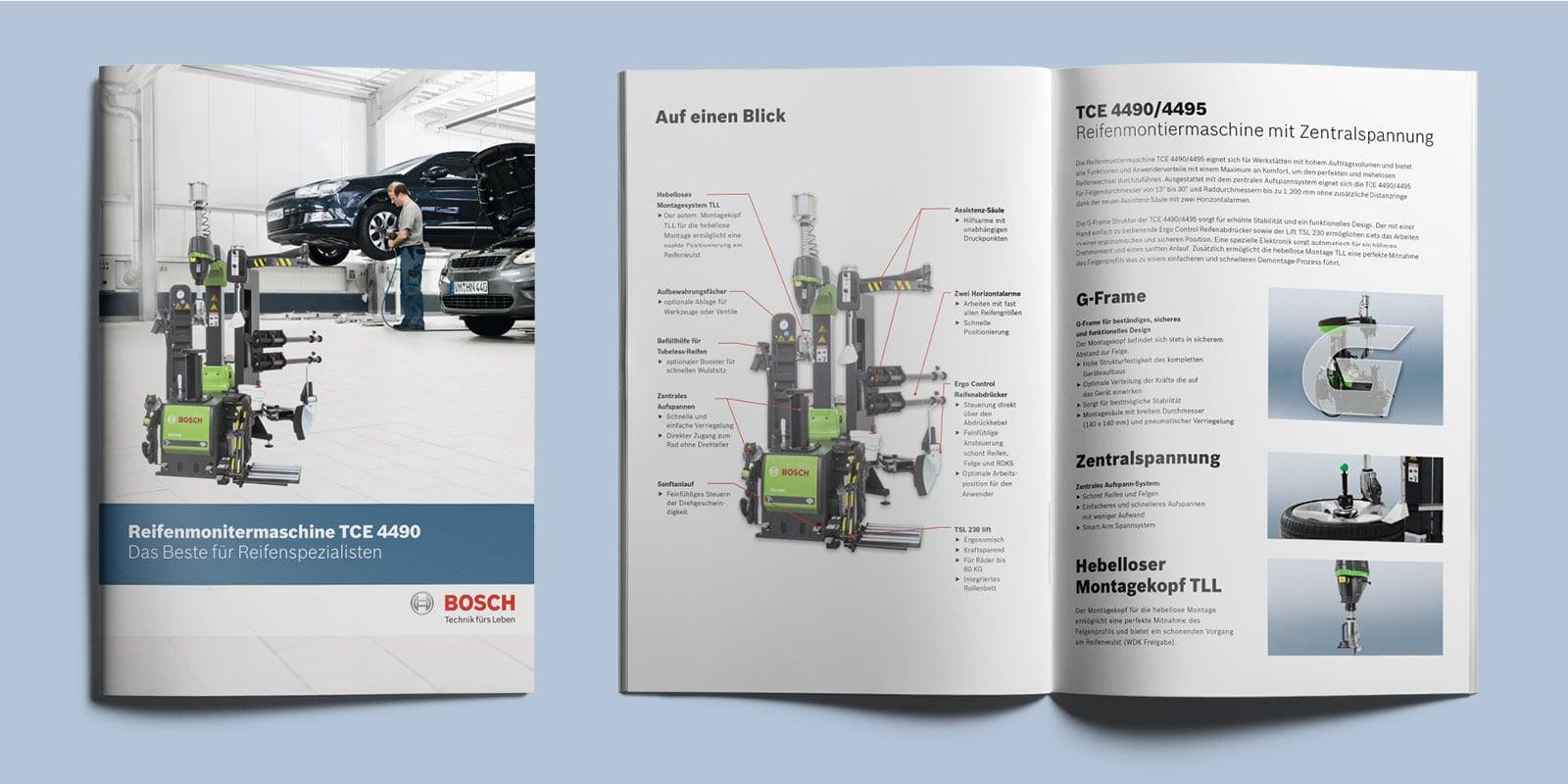 Bosch – Broschüre