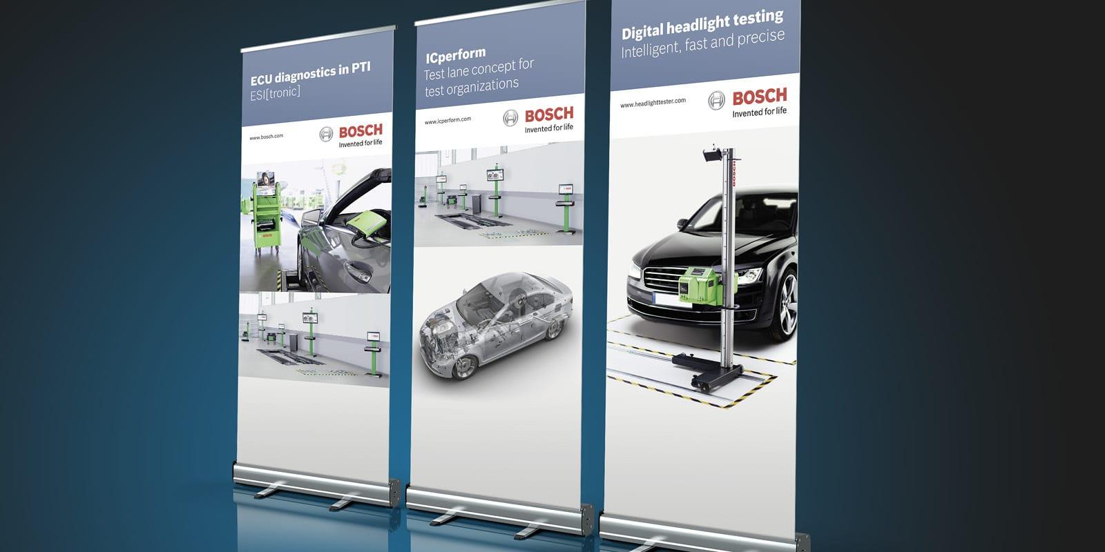 Bosch – RollUp Banner