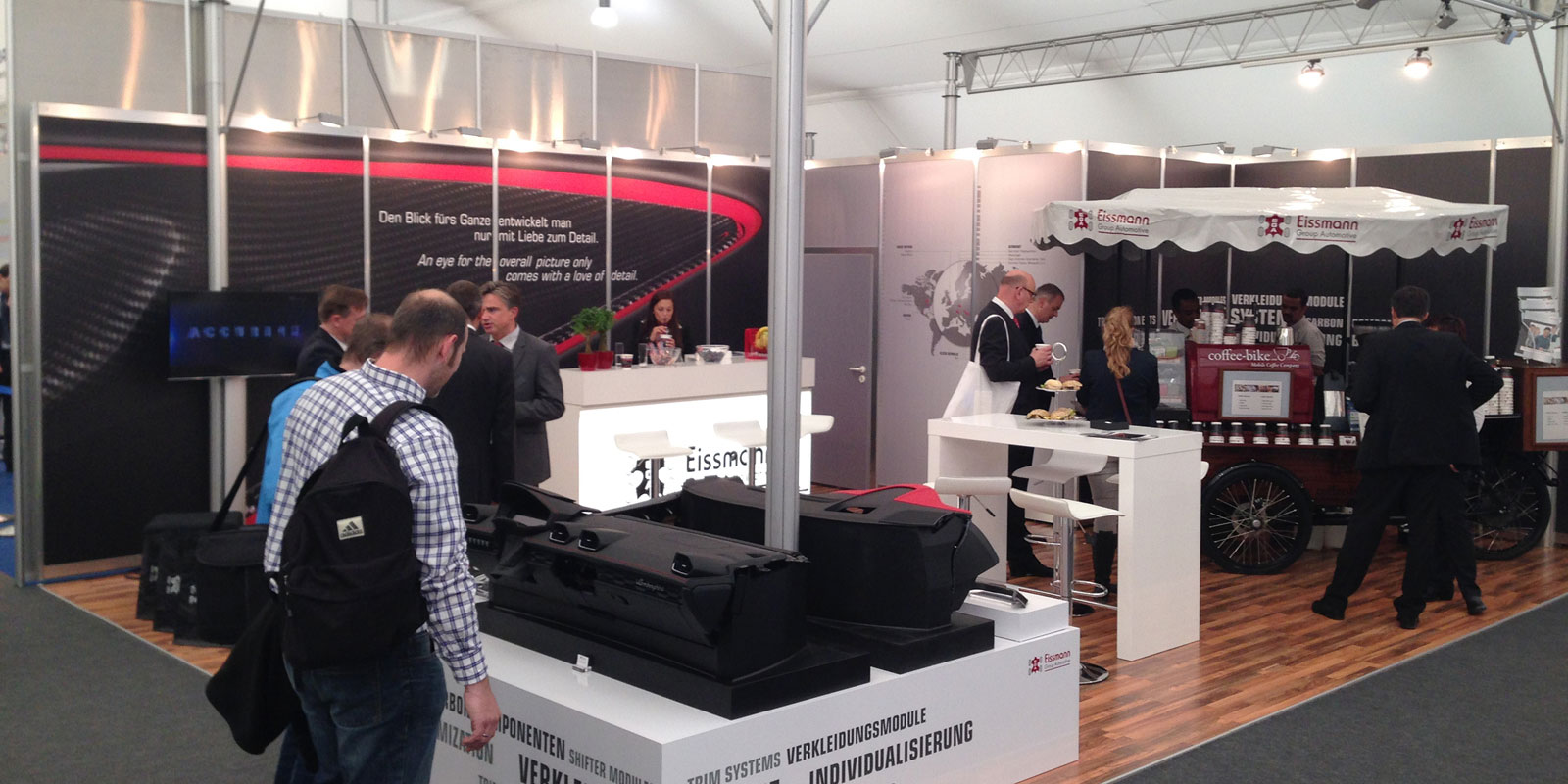 Eissmann – Messestand