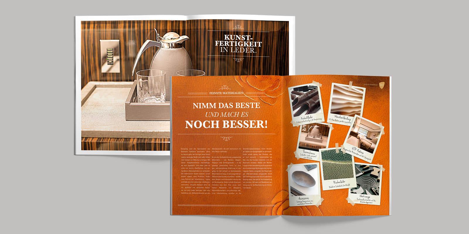 Eissmann Individual – Imagebroschüre im