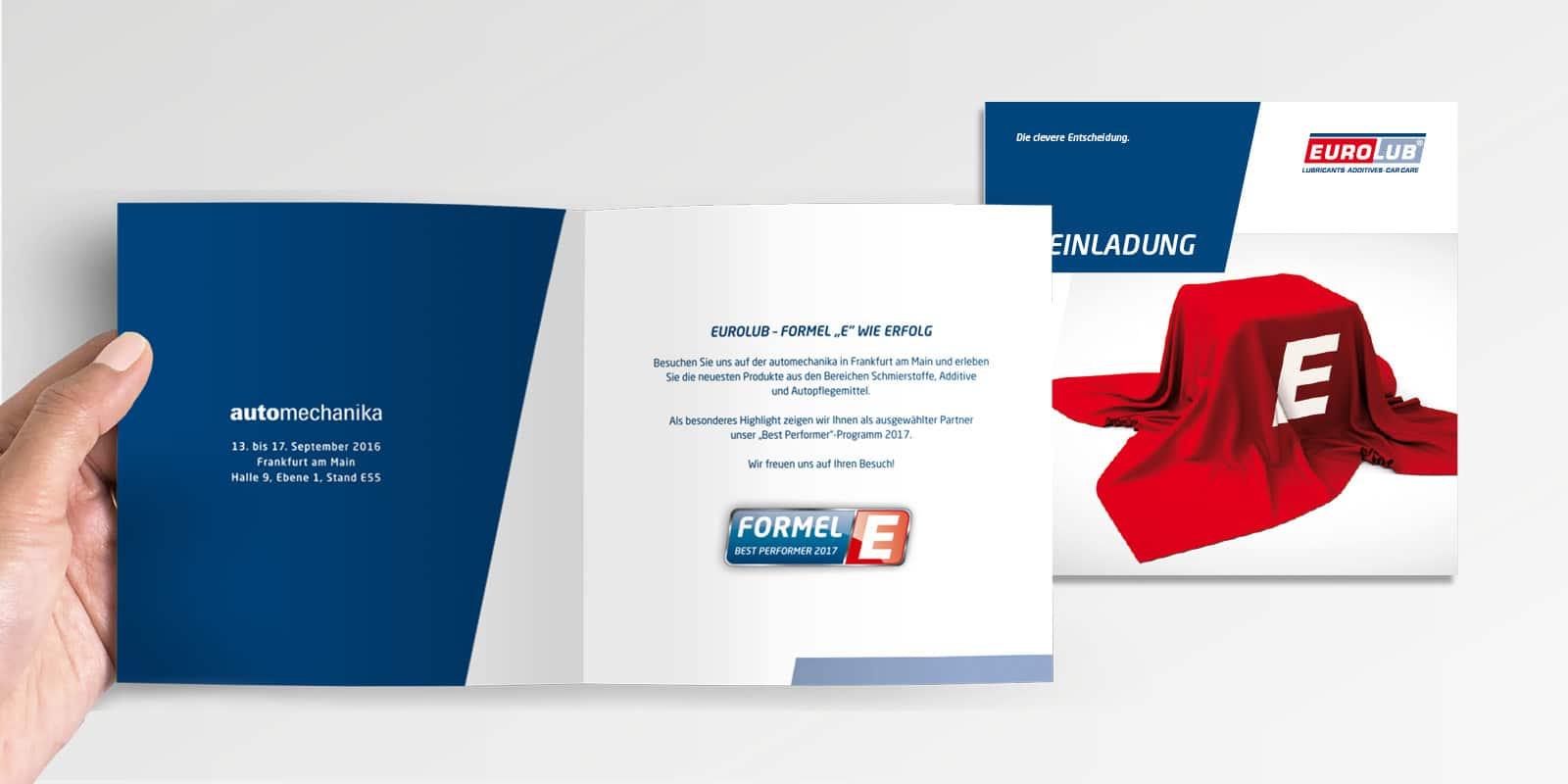 Eurolub – Einladung Automechanica