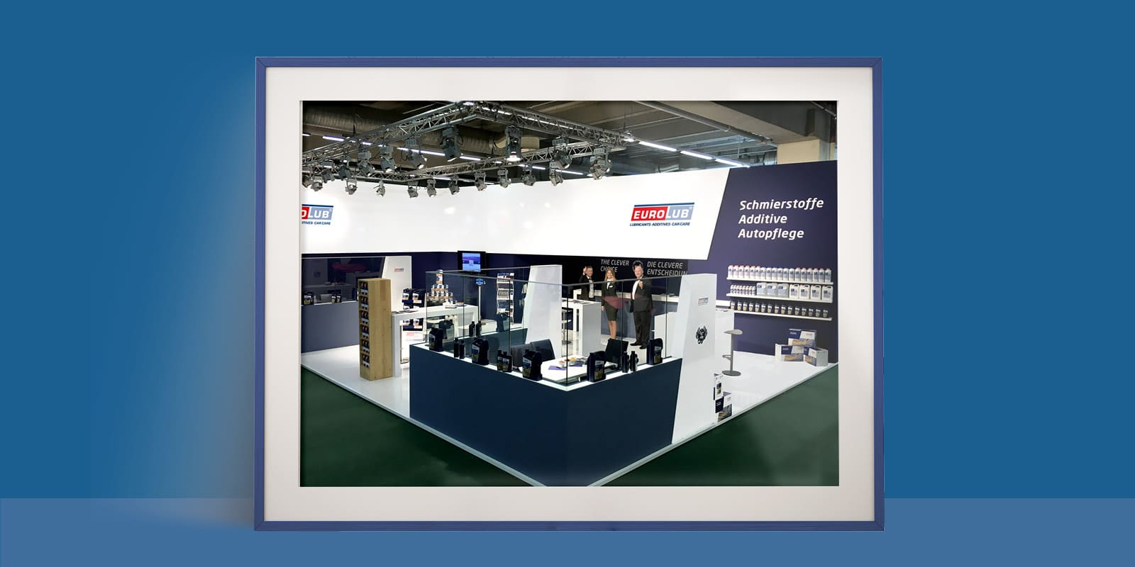 Eurolub – Messesstand Automechanica
