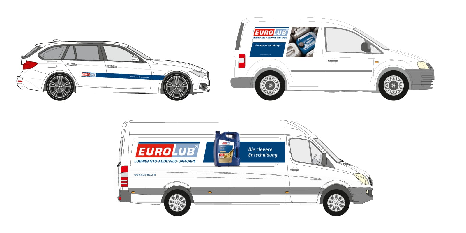 Eurolub – Fahrzeugbeschriftung