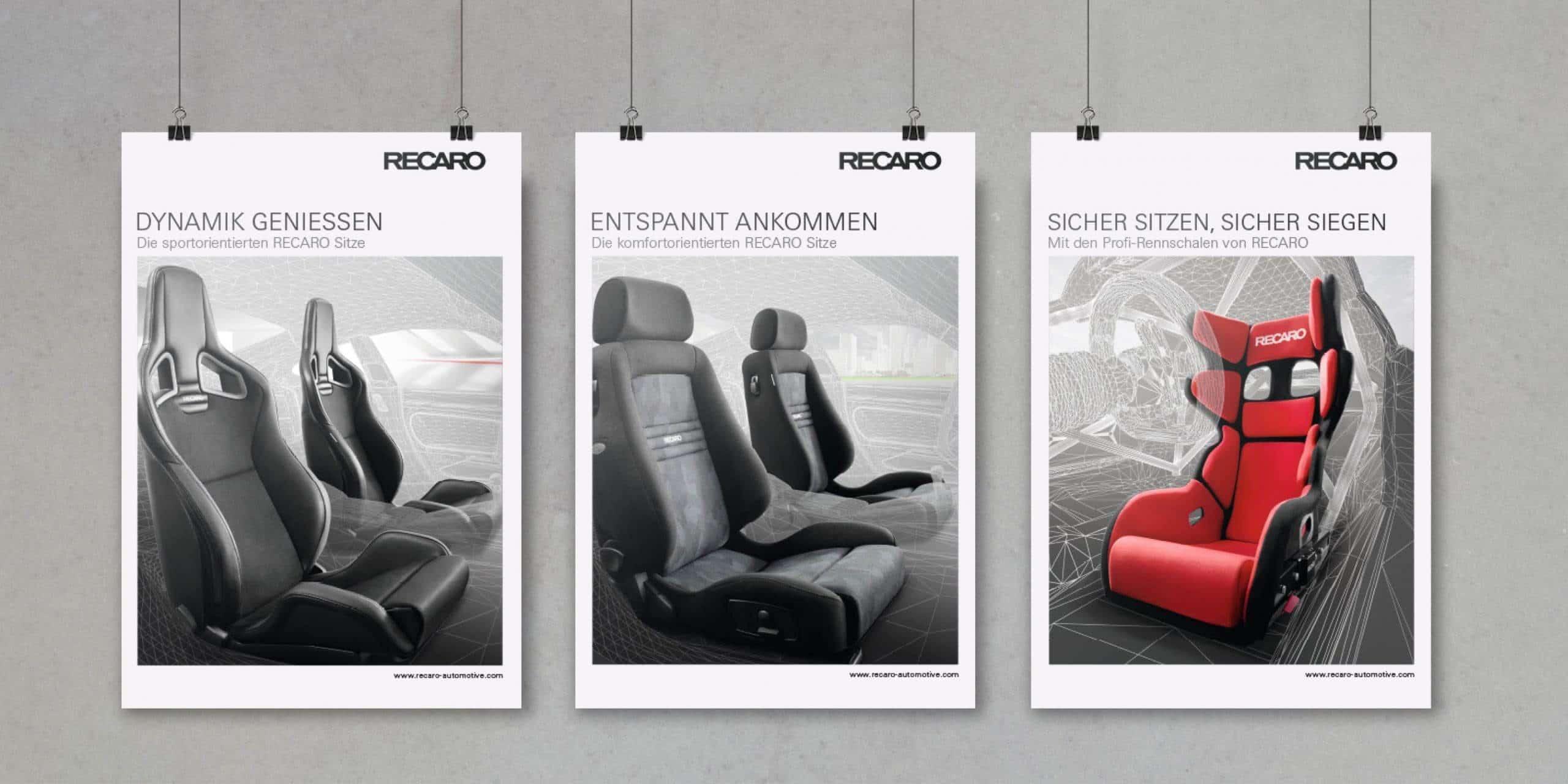RECARO – Poster