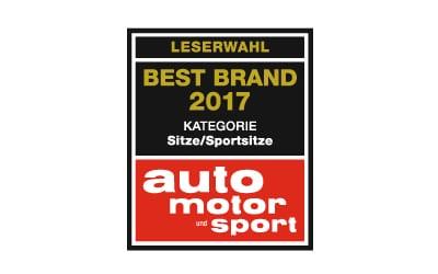 RECARO Best Brand 2017