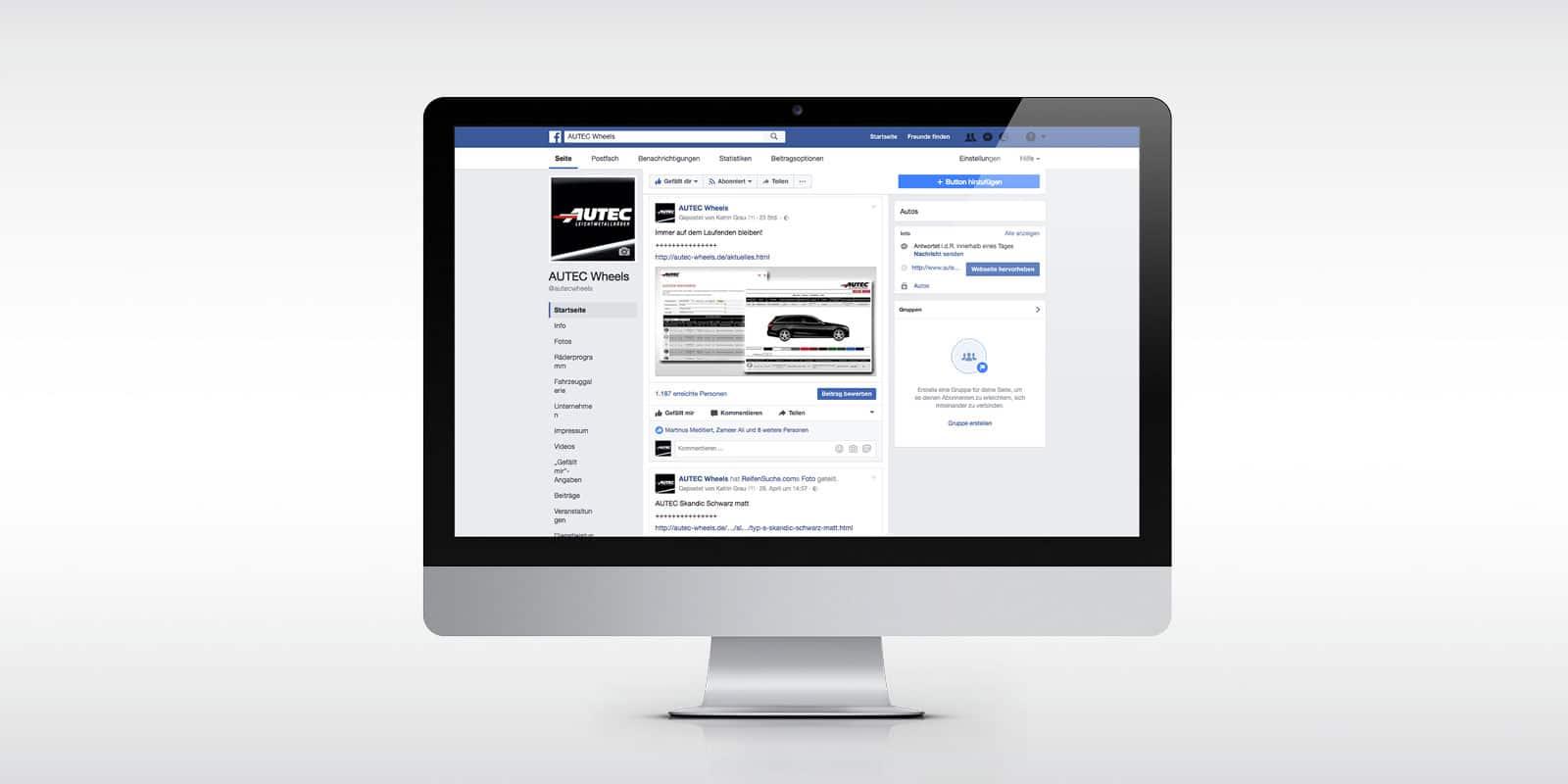 Autec – Facebook