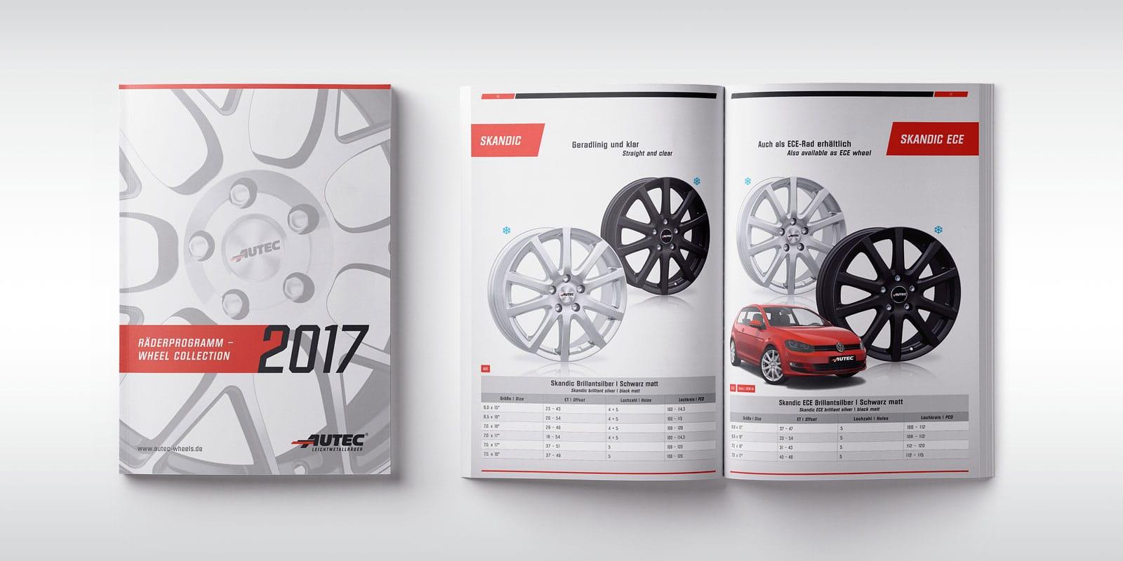 Autec – Räderprogramm Sommer