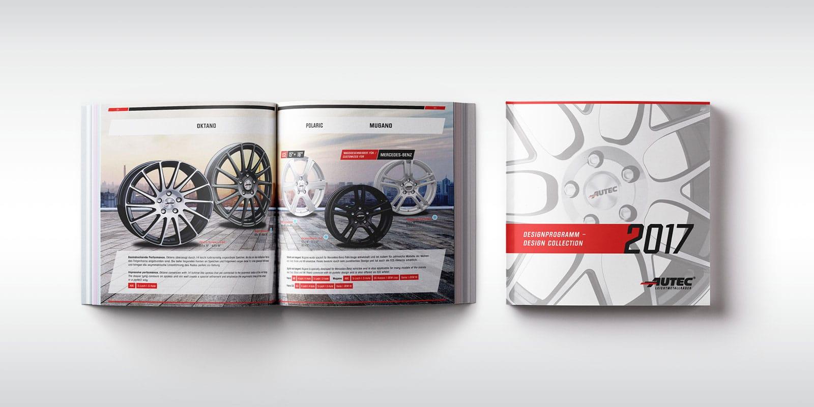 Autec – Designprogramm Sommer