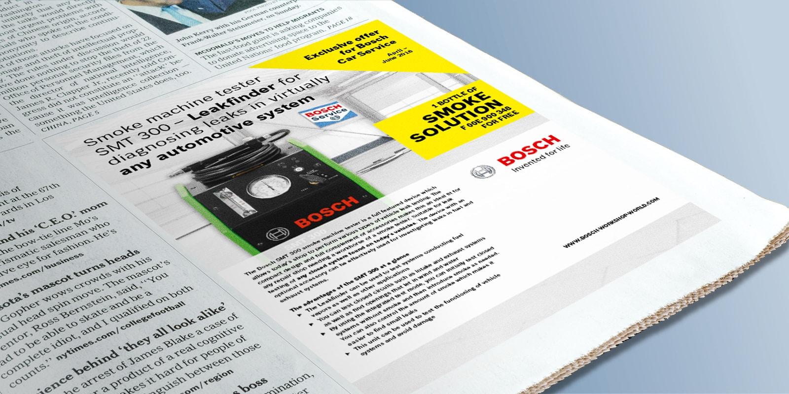 Bosch – Anzeige