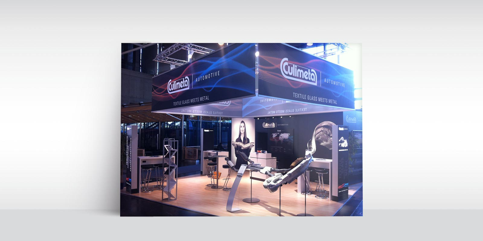 Culimeta Automotive – Messestand
