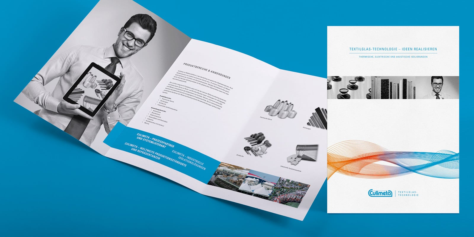Culimeta – Imagebroschüre Textilglas