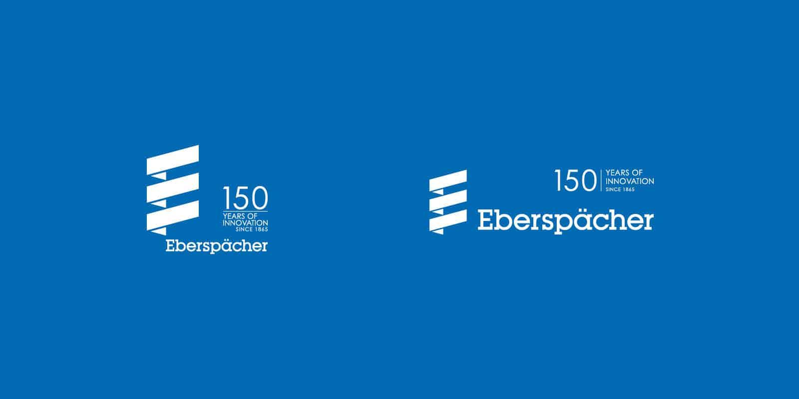 Eberspächer – Logo 150 Jahre