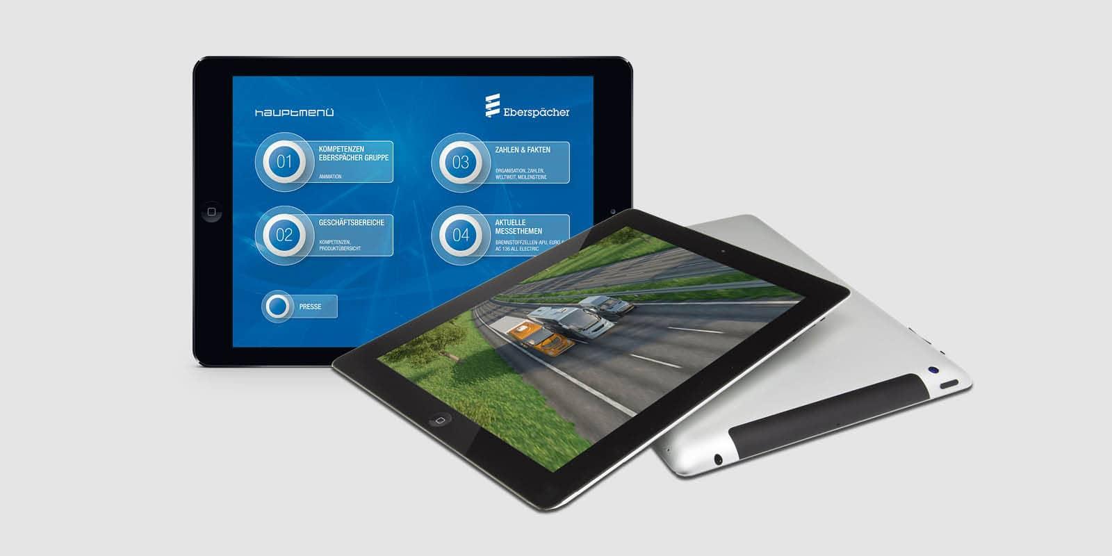 Eberspächer – IAA iPad-Präsentation als APP