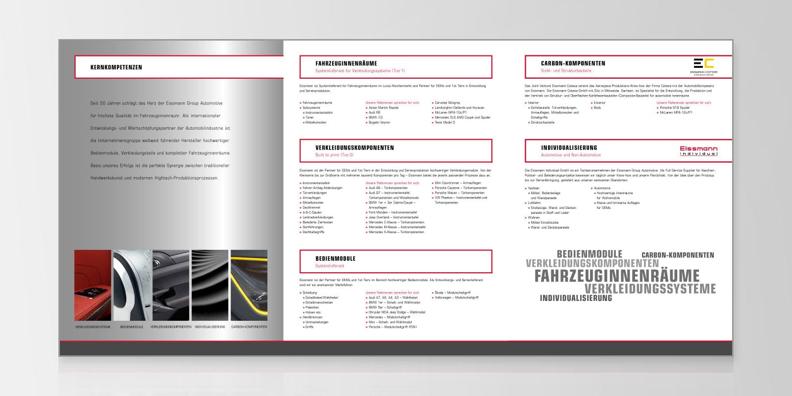 Eissmann – Vertriebsbroschüre