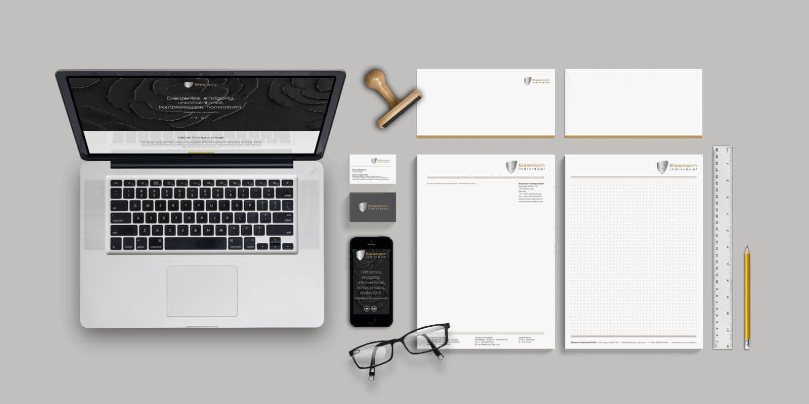 Eissmann Individual – Geschäftsausstattung