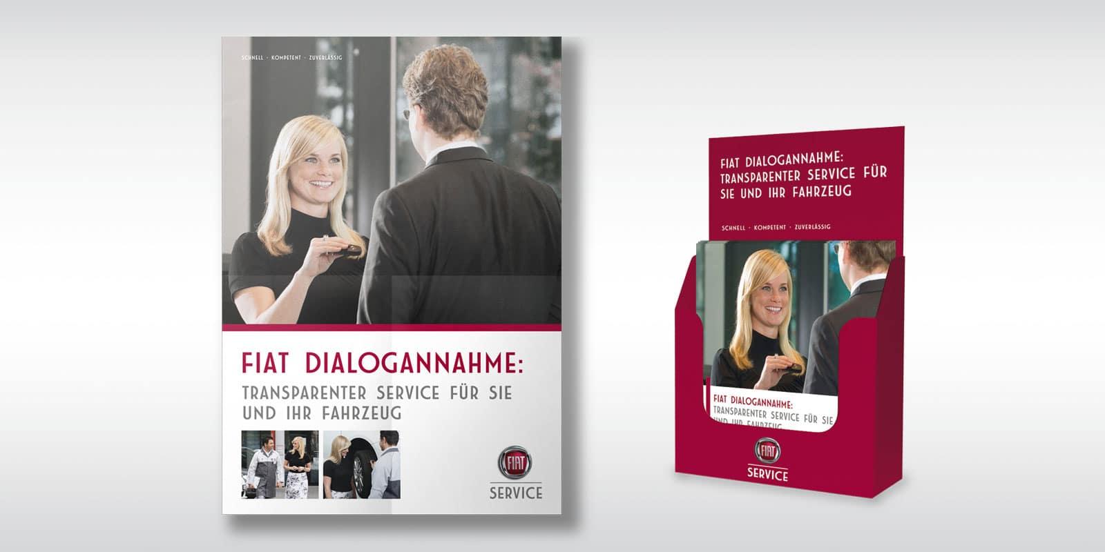 Fiat Group – Werbemittel Dialogannahme