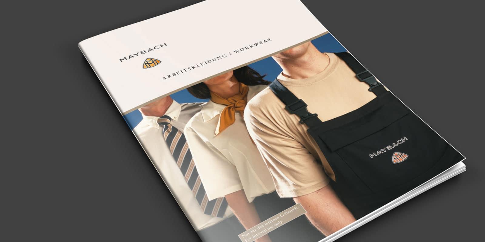 Maybach – Broschüre Arbeitskleidung