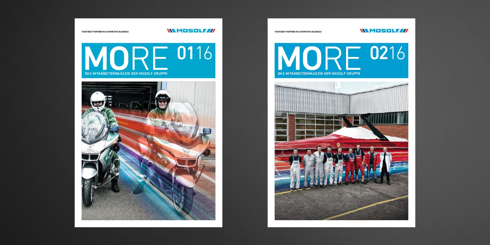 Mosolf – Mitarbeitermagazin MORE