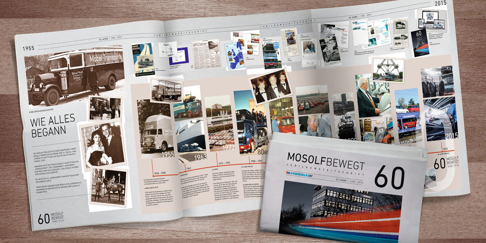 MOSOLF – Mitarbeitermagazin Jubiläum 60 Jahre