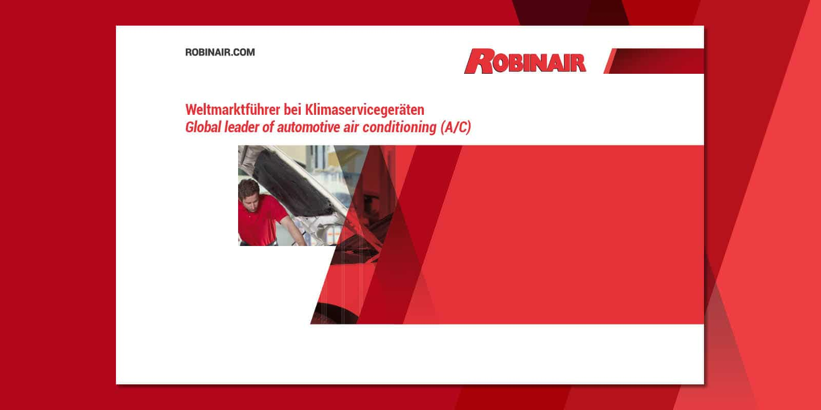Robinair – Broschüre
