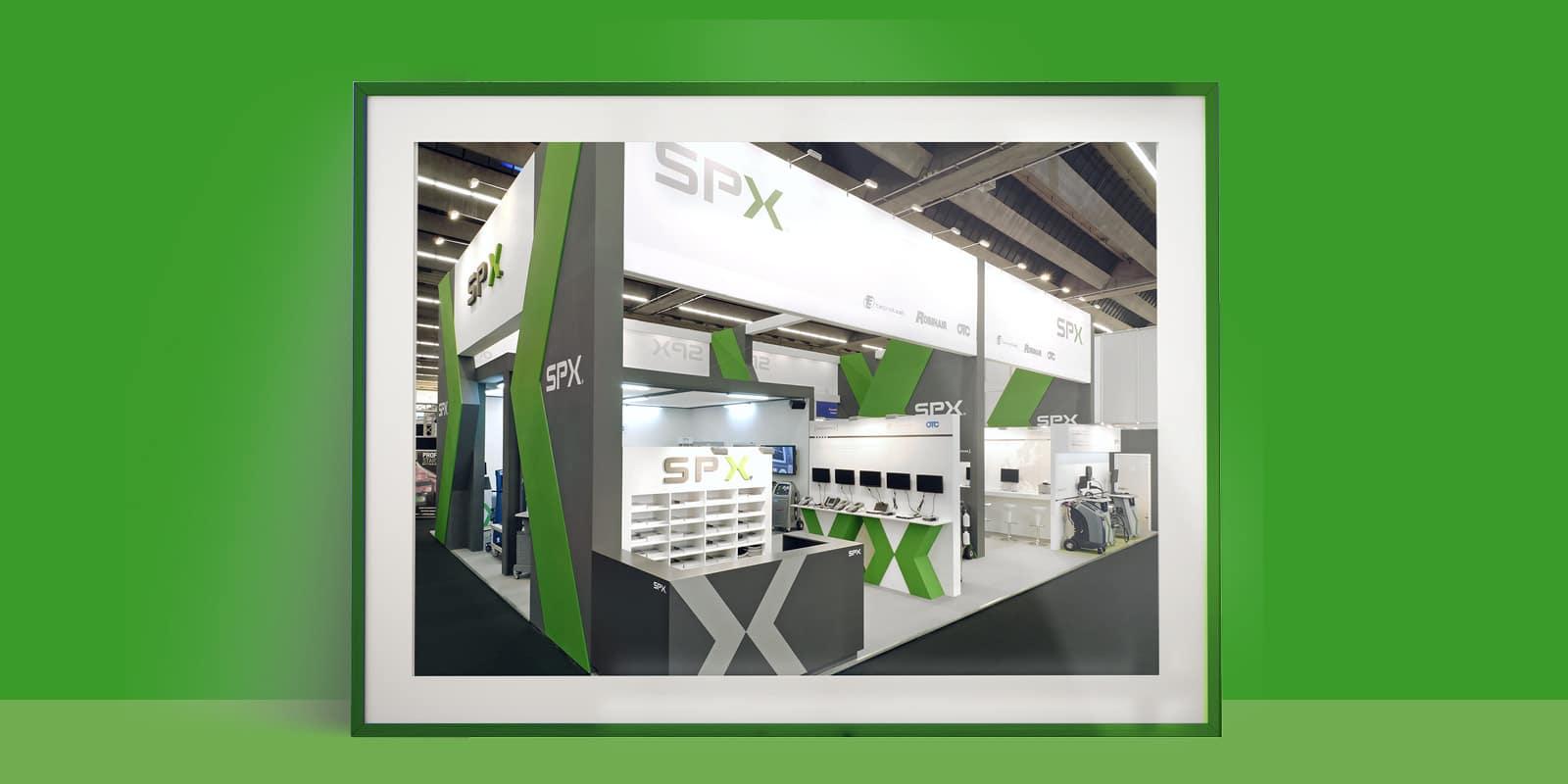 SPX – Messestand