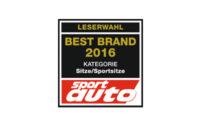 RECARO Best Brand 2016