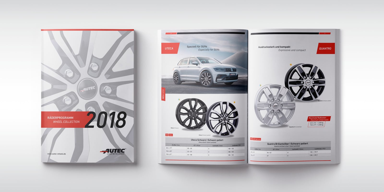 Autec – Räderprogramm Frühjahr
