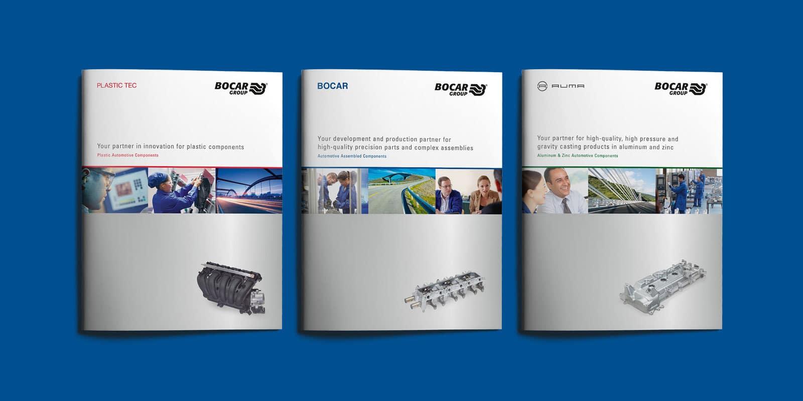 Bocar Group – Broschüren