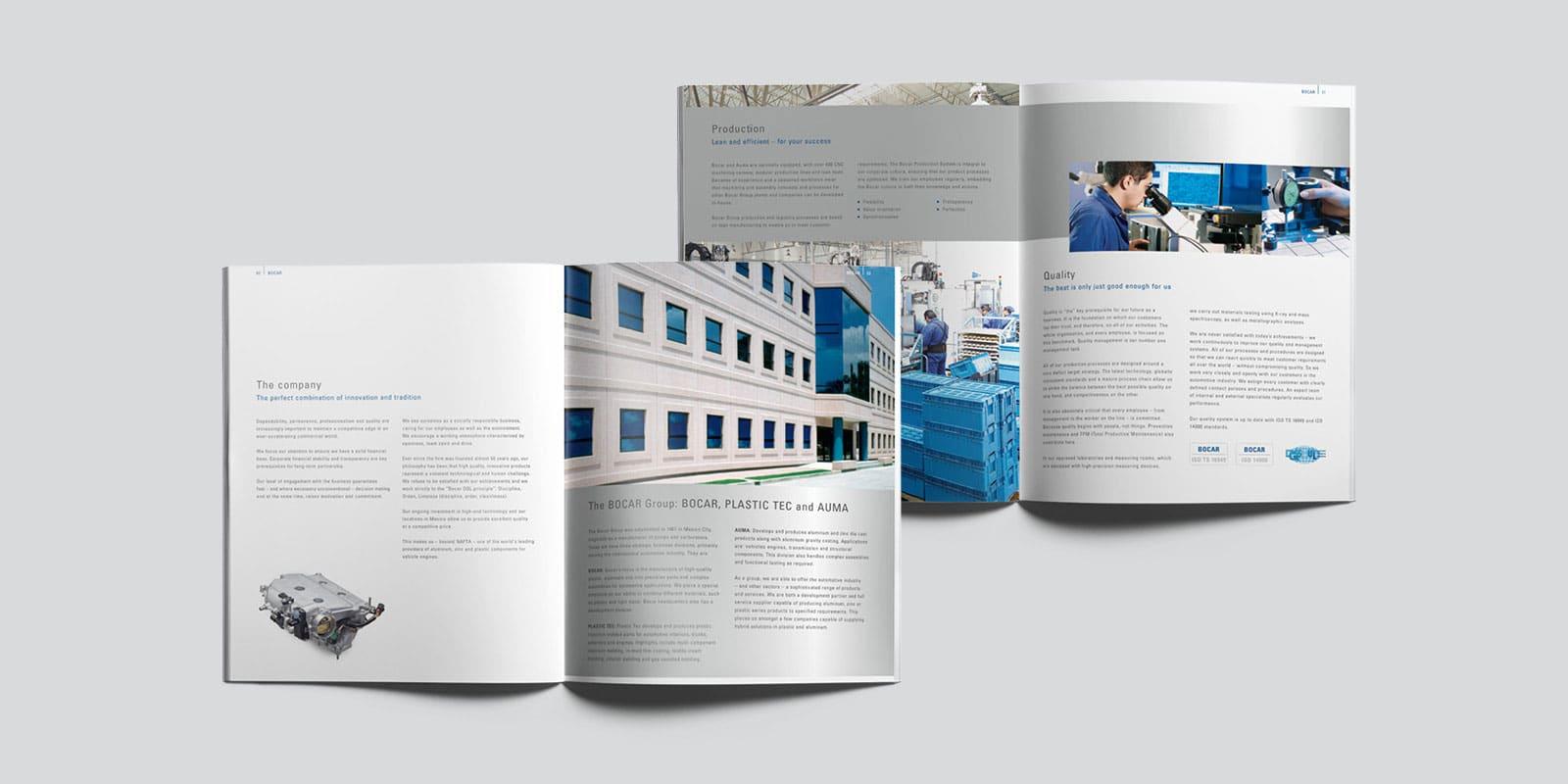 Bocar Group – Broschüre