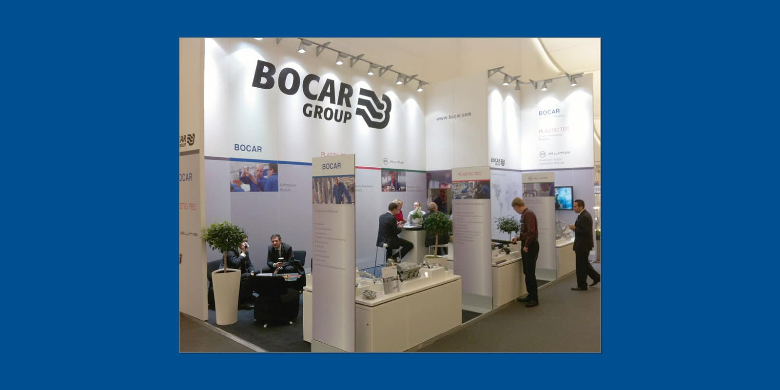 Bocar Group – Messestand