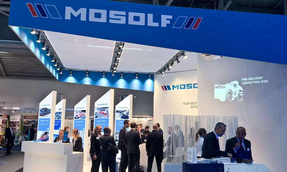 "FACT News – Mosolf Messestand ""Transport & Logistik"""