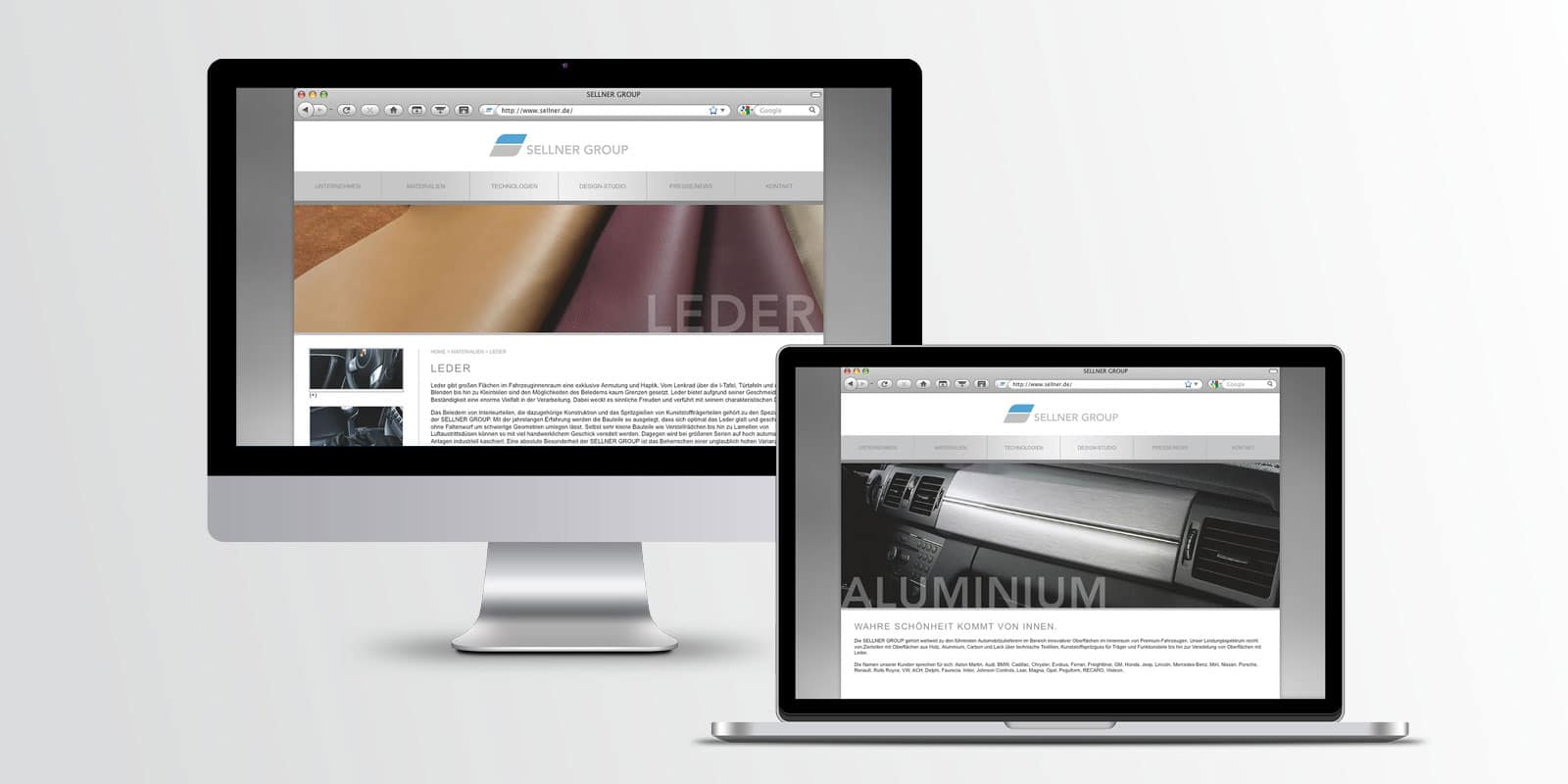Sellner Group – Corporate Website