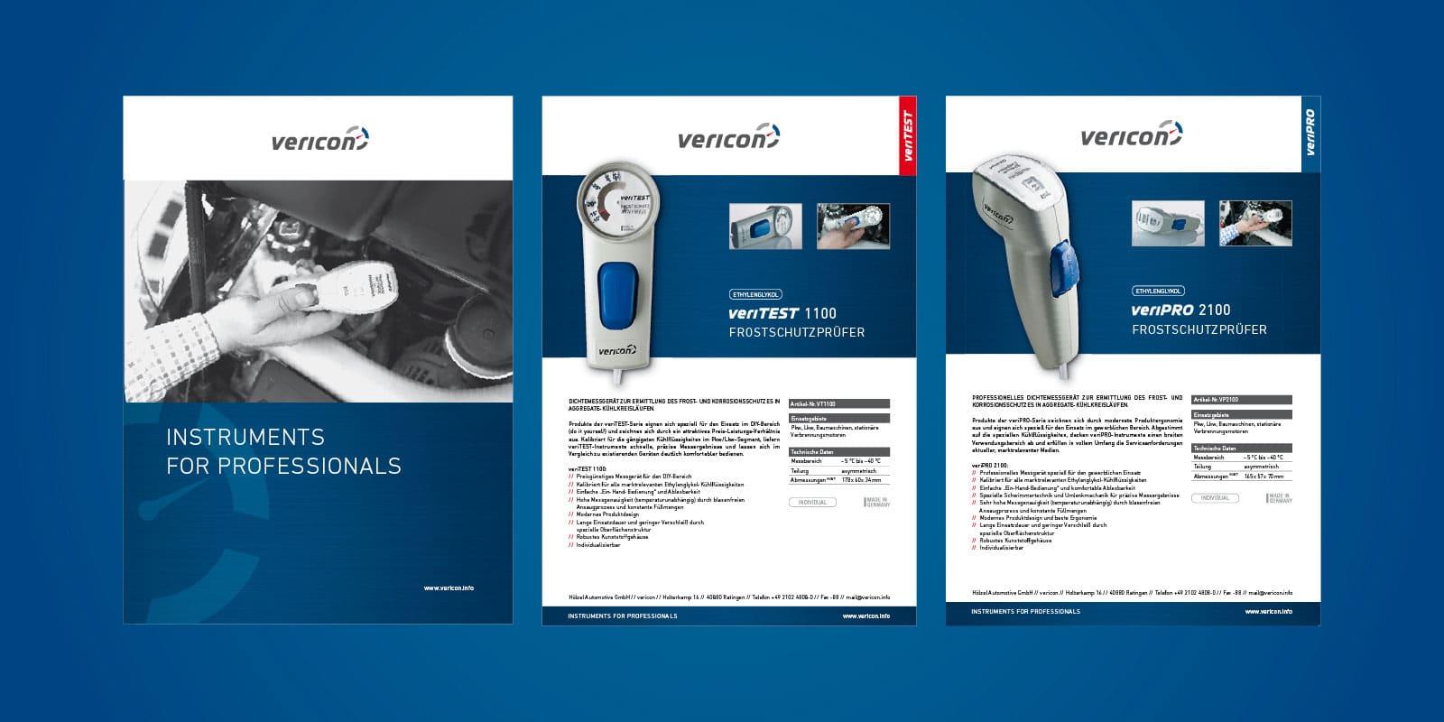 Vericon – Produktinformation