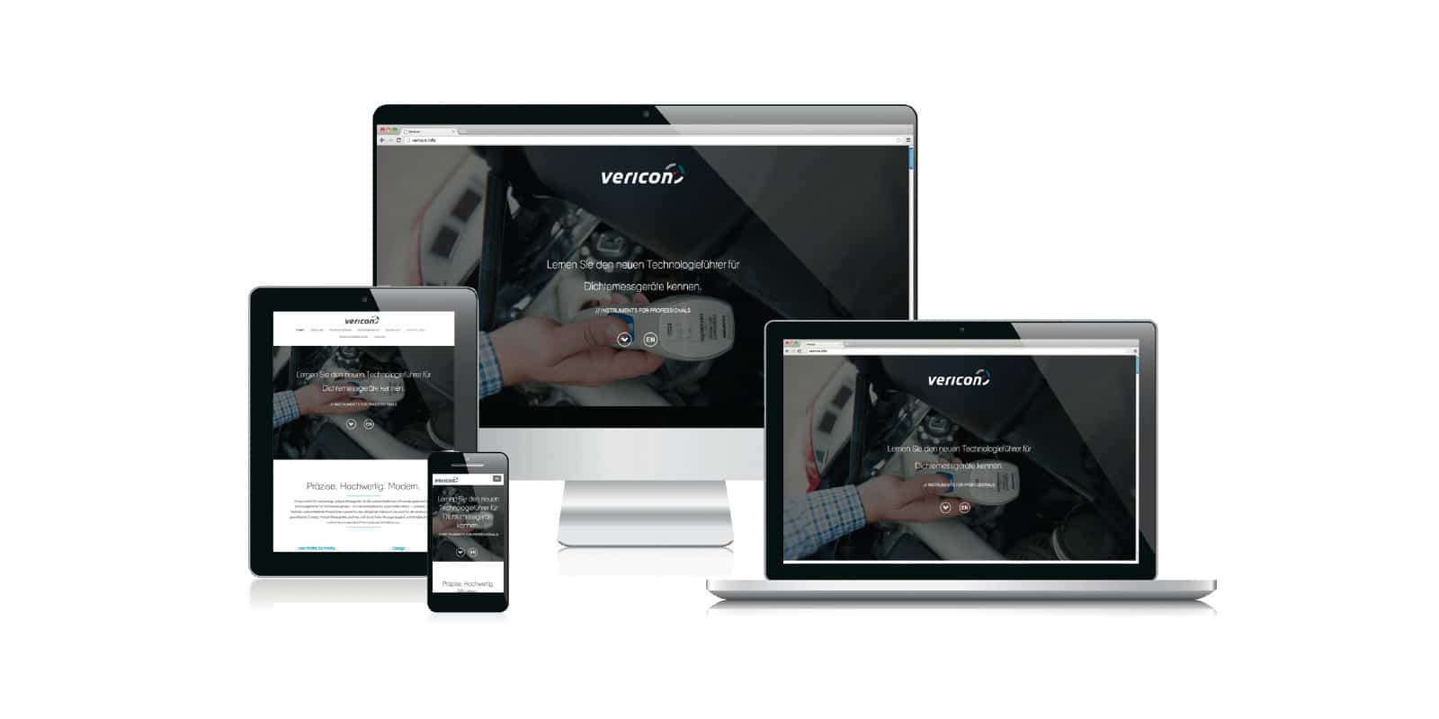 Vericon – Corporate Website