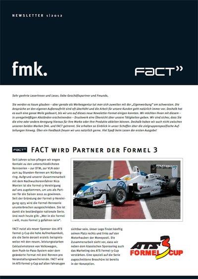 Newsletter 01/2012