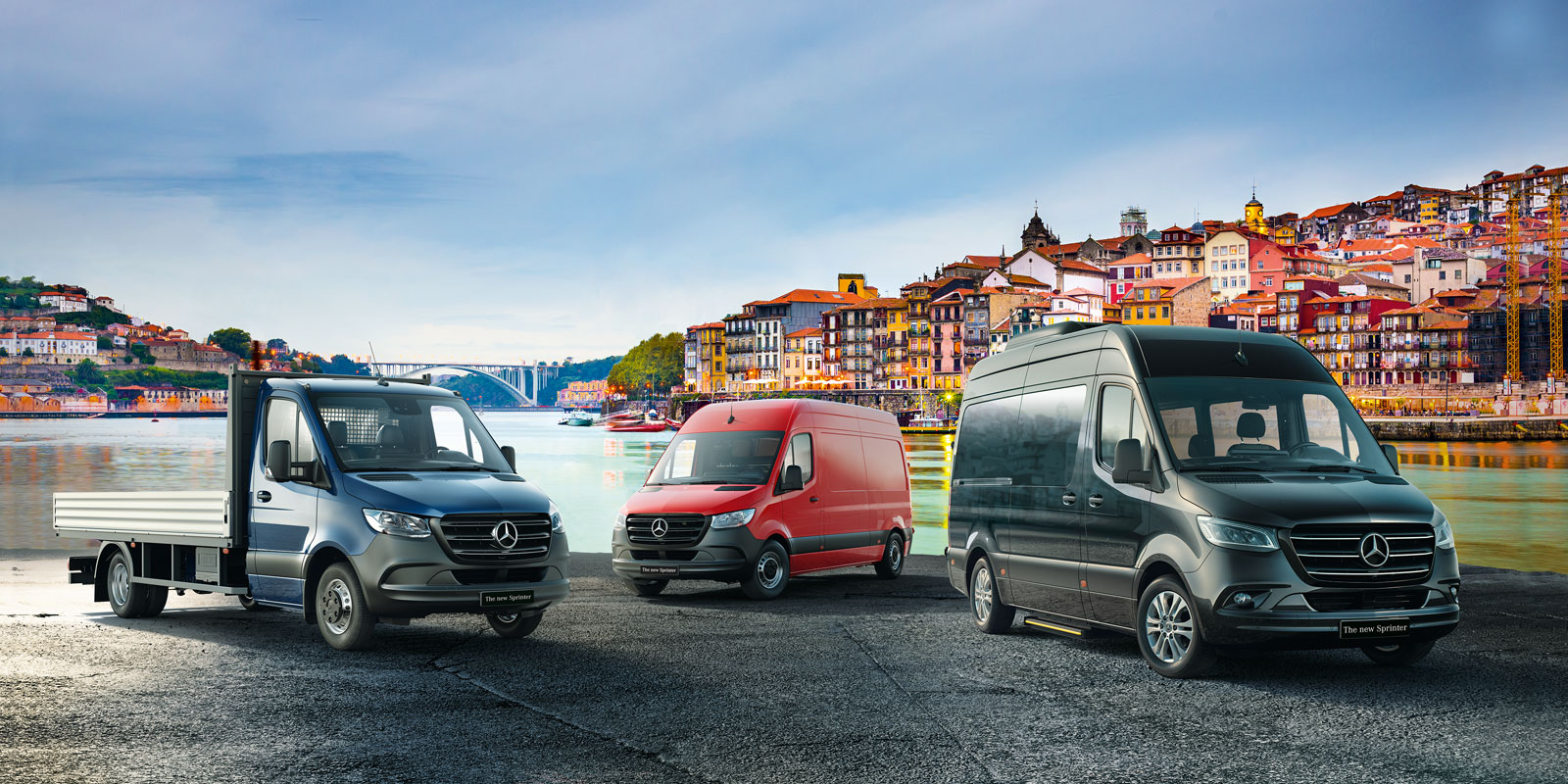 Mercedes Benz Vans – Key-Visual VIP-Event Porto