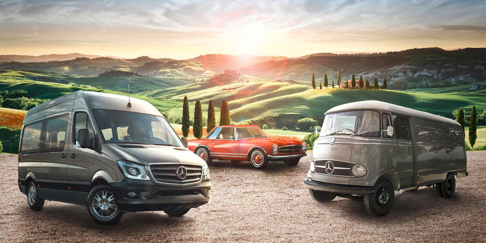 Mercedes Benz Vans – Key-Visual VIP-Event Italien