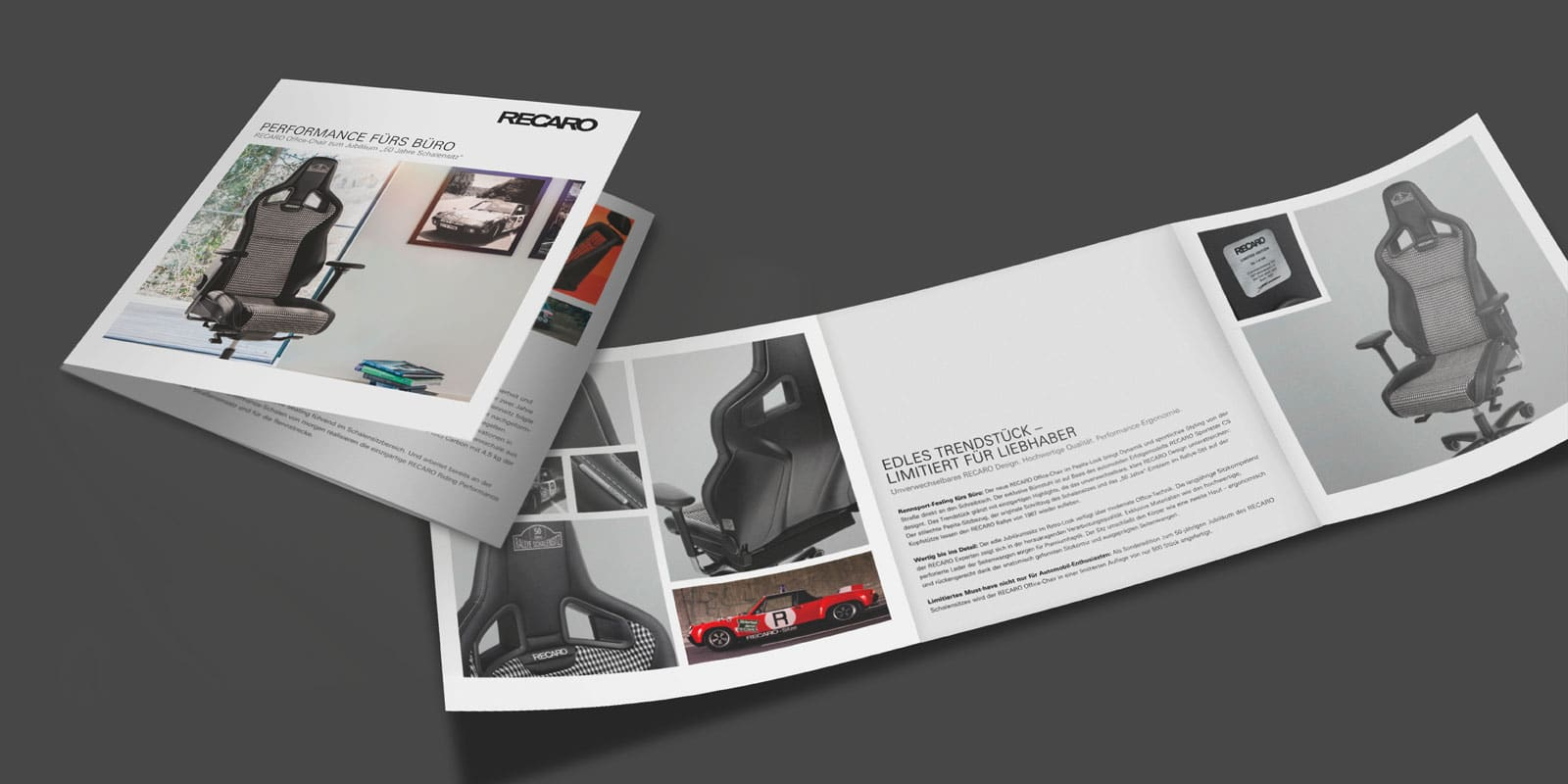 RECARO Office Edition – Flyer