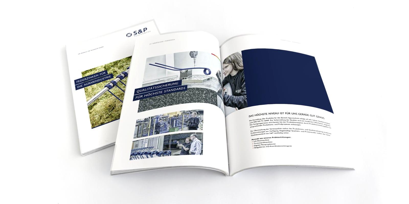 S & P Federnwerk – Broschüre Agrar Federnzinken