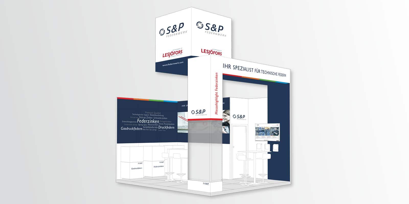 S & P Federnwerk – Messestand