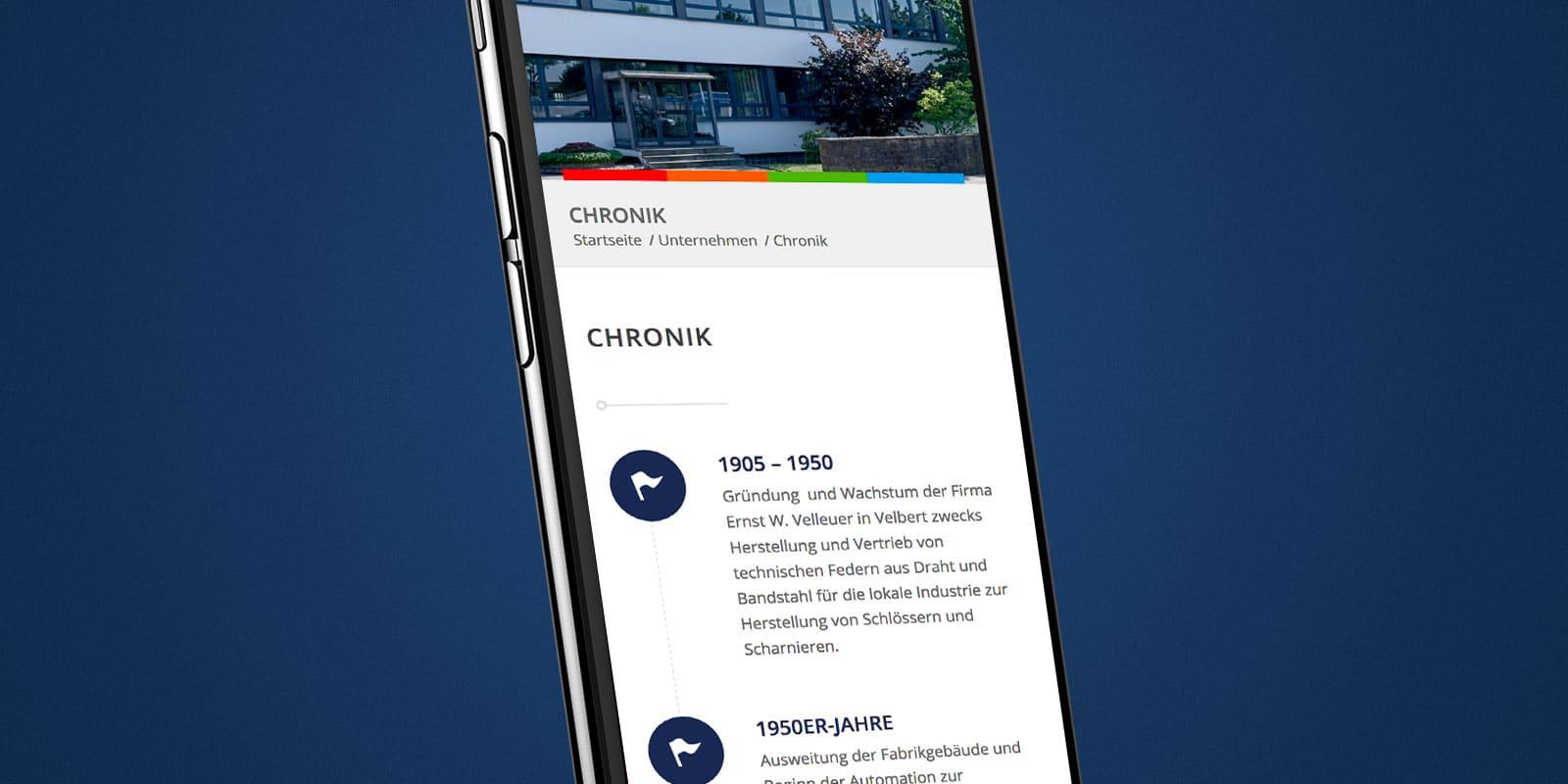 Velleuer – Website