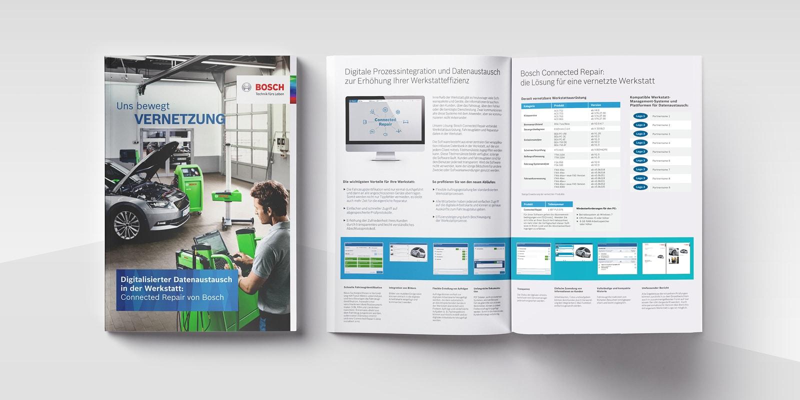 Bosch - Broschüre - Digitale Daten