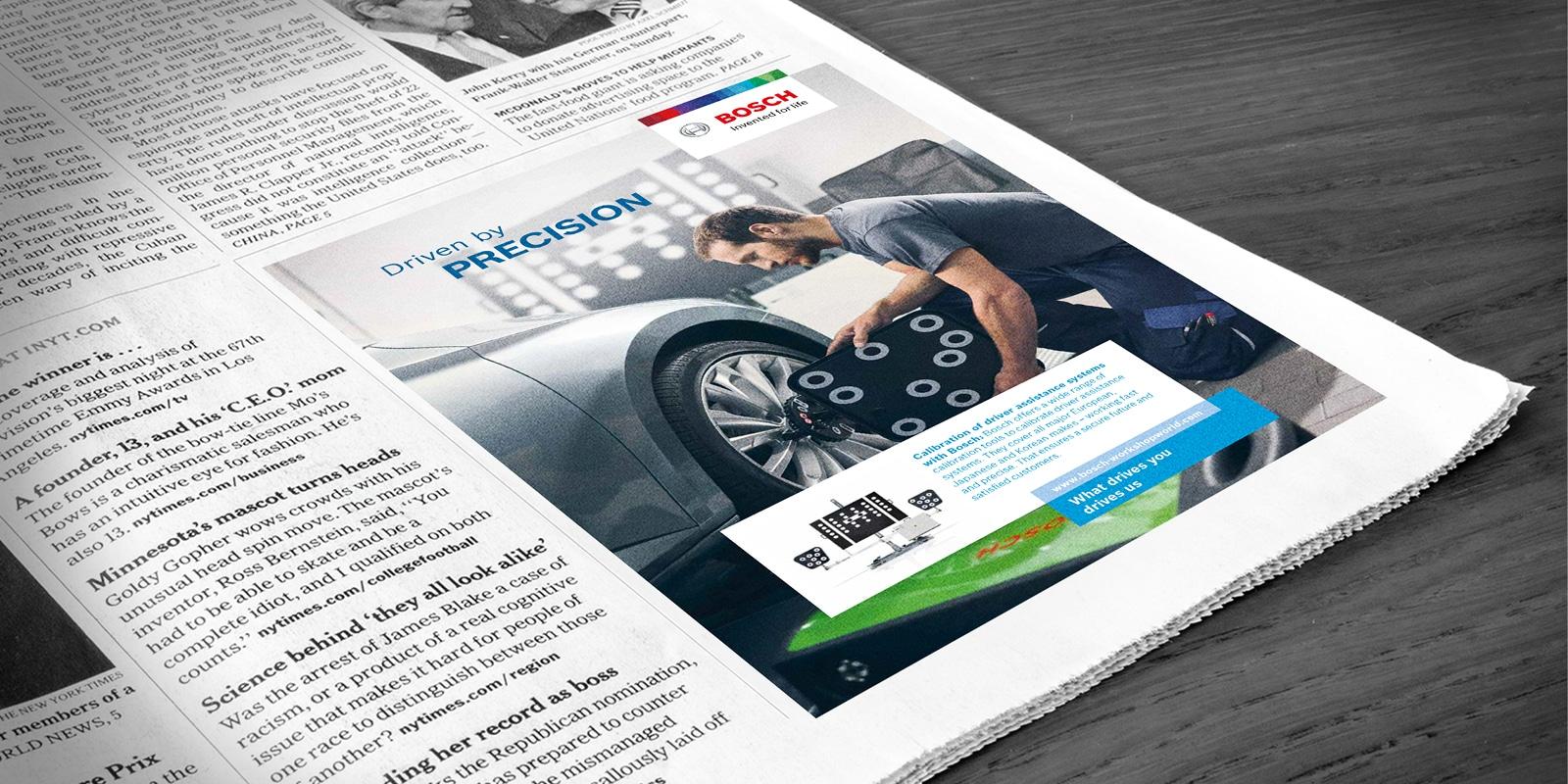 Bosch - Anzeige