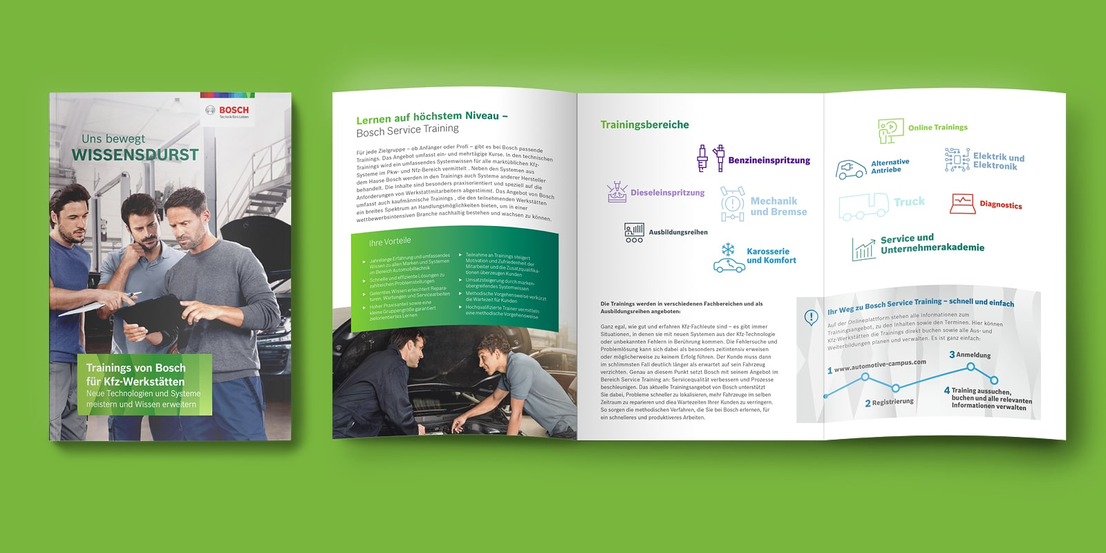 Bosch - Broschüre - Trainings