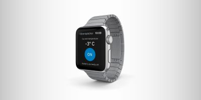 Eberspächer Screendesign Smartwatch-App