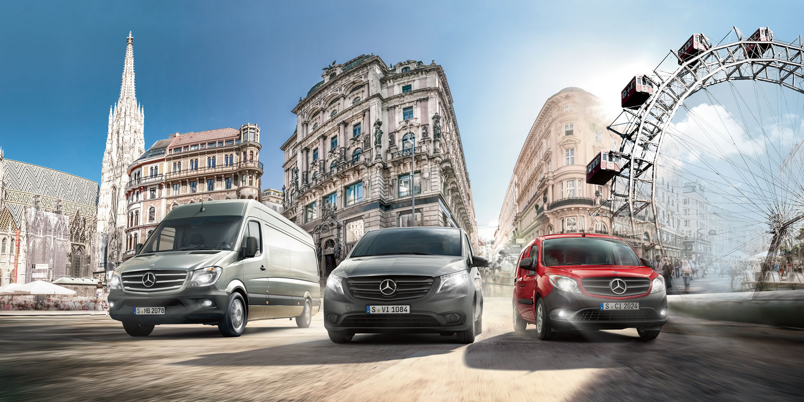 Mercedes Benz Vans – Key-Visual VIP-Event Vienna