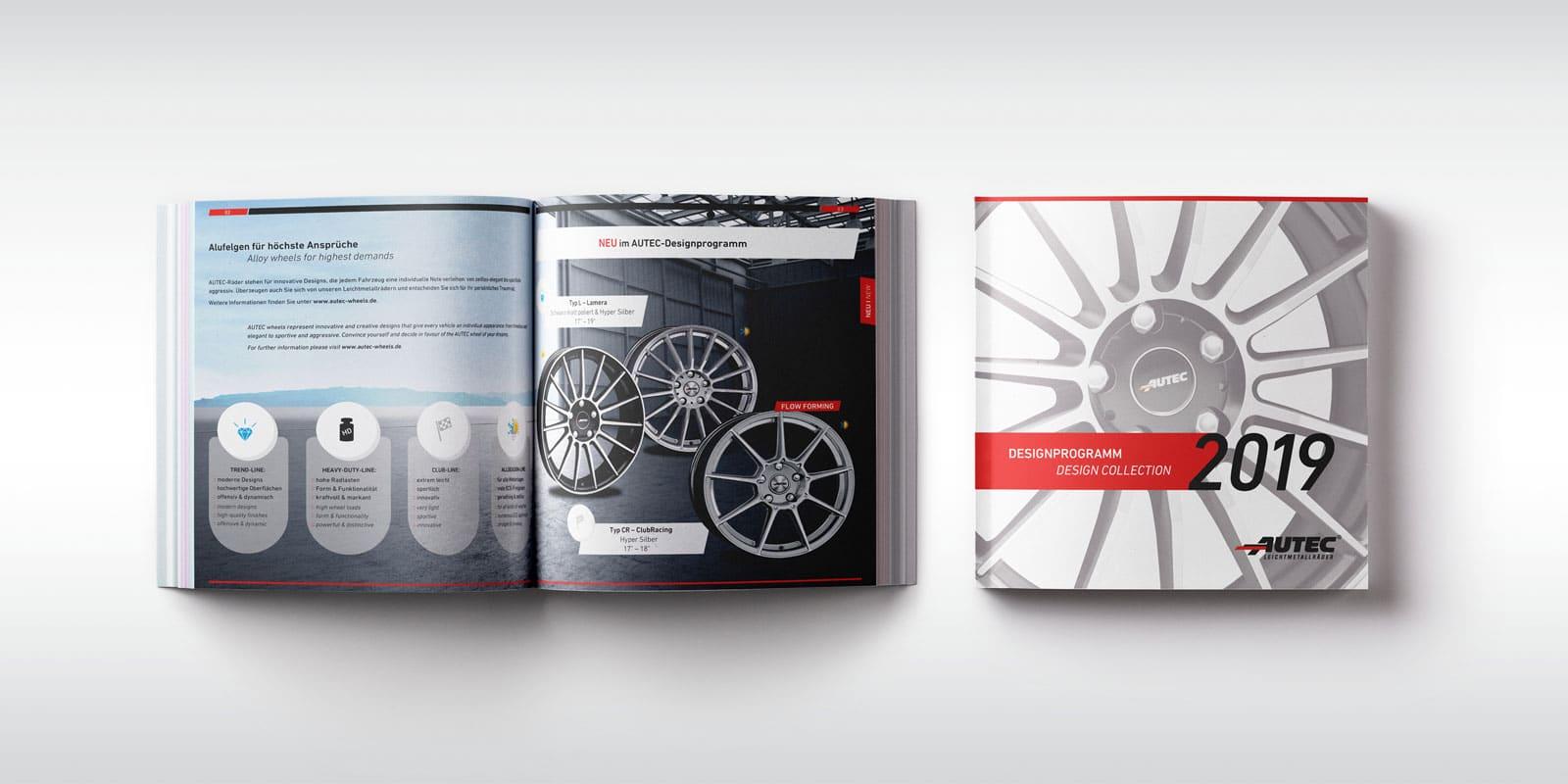 Autec – Designprogramm 2019