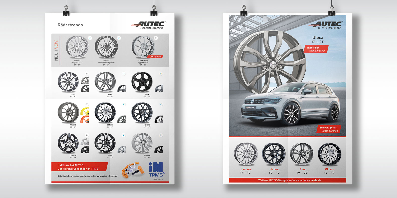 Autec – Plakate 2019