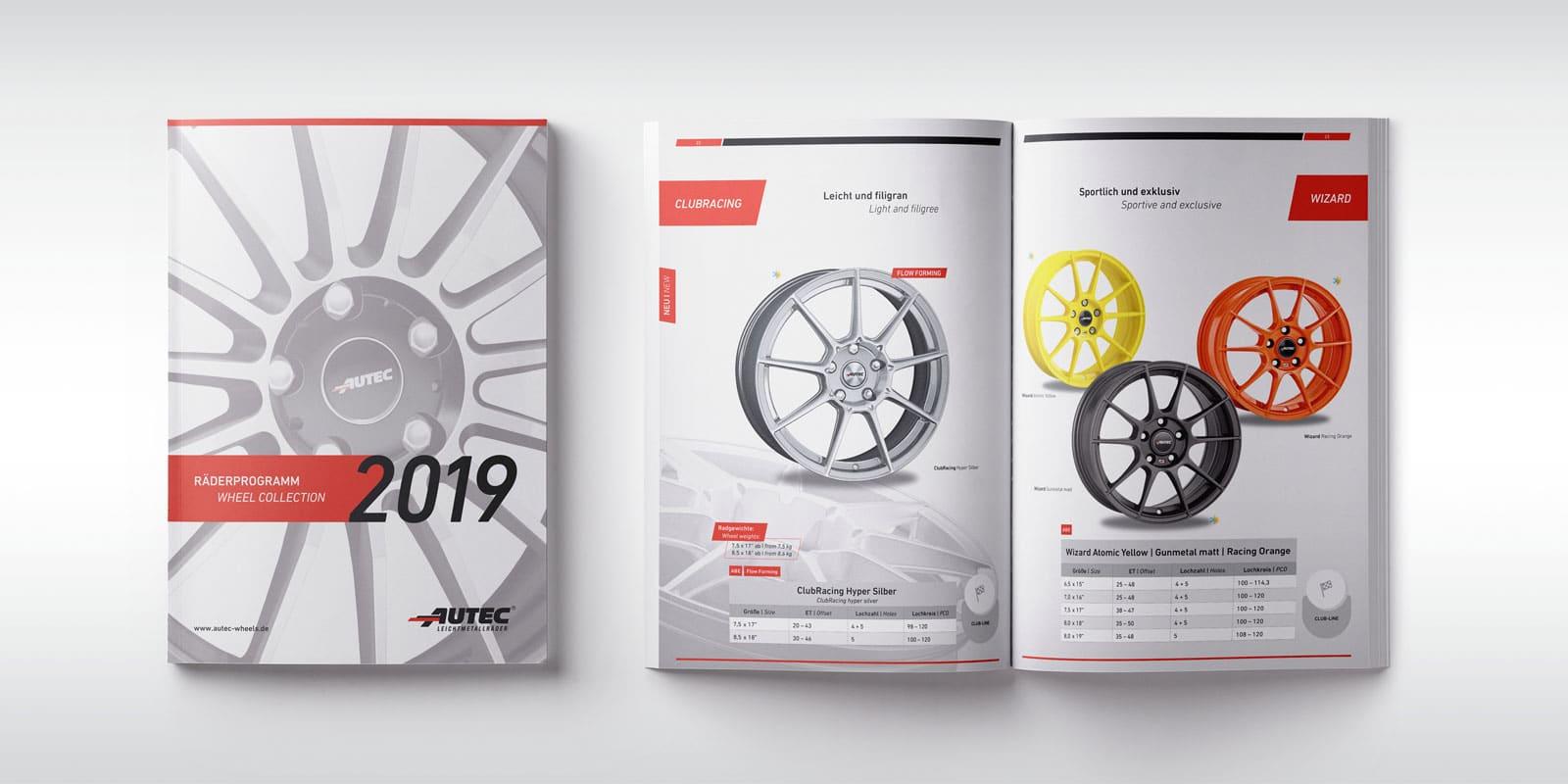 Autec – Räderprogramm 2019