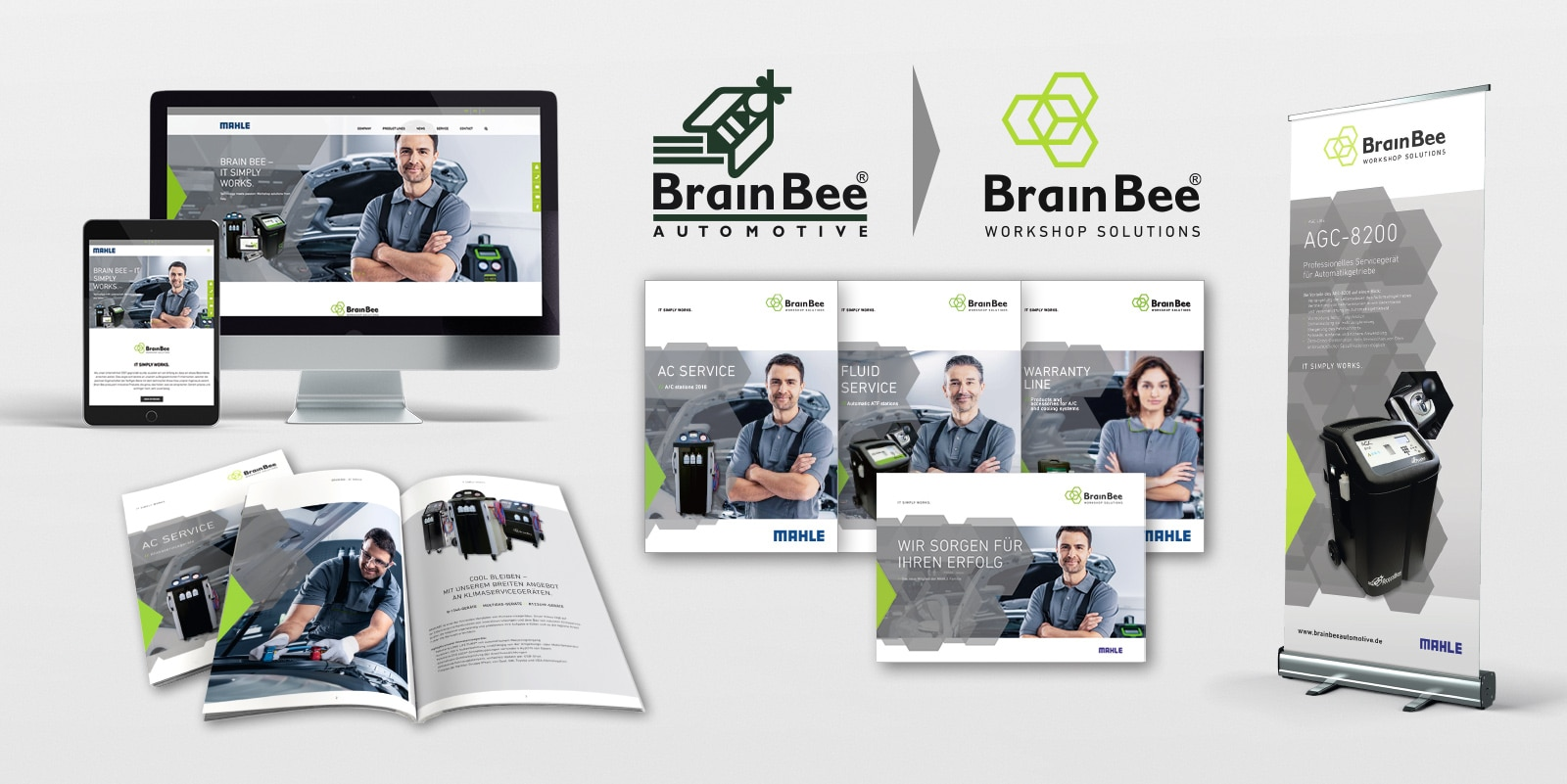 MAHLE – BRAIN BEE Marken-Relaunch